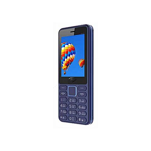 5022- Wireless FM, Torch, Dual SIM Feature Phone - Dark Blue
