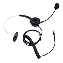 Telephone Headset Noise Cancelling Microphone RJ11 Headset For Desk Phones