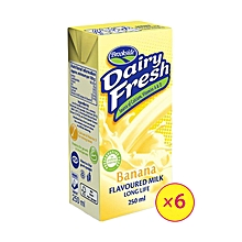 Dairyfresh Flavored Milk-Banana (6 Pack)
