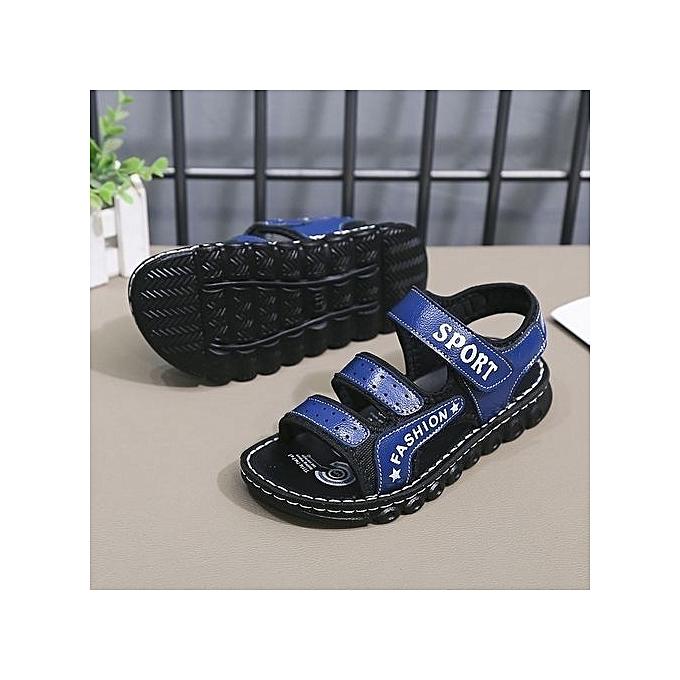 07dd84a75106 Boys Sandals Summer New 2018 Children s Beach Shoes In The Big Boy Little  Girl Baby Sandals
