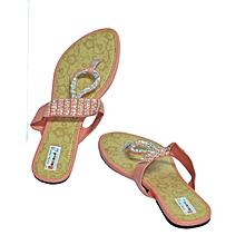 Peach Ladies Sandals