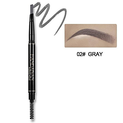 5 Color Waterproof Long Lasting Double Ended Eyebrow Pencil Rotatable  Triangle Eye Brow Gel Tatoo Pen Makeup Comestics(2)