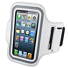 Bluelans Sports Adjustable Armband Gym Equipment Case Cover For IPhone 6/6S White