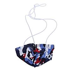 Fashion Men Briefs  Sexy Low Waist Camouflage Underwear Thong