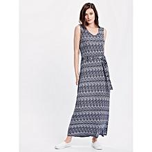 Navy Blue Fashionable Dress