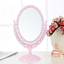 Desktop Makeup Mirror Nano-European Zoom Dressing Mirror Portable Princess Mirror