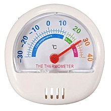 6.2CM Fridge Thermometer Refrigerator Freezer Indoor Outdoor Factory Thermograph White