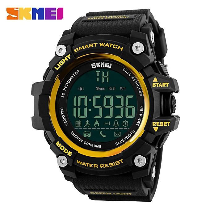 Sport Waterproof Bluetooth Smart Watch Phone Mate For Smartphone GD