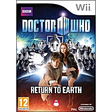 WII Game Doctor Who Return To Earth