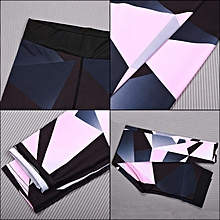 Women Fashion Yoga Pants Geometric Pattern Legging