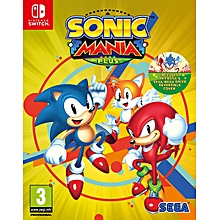 Switch Game Sonic Mania Plus