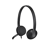 H340 USB Headphone - Black