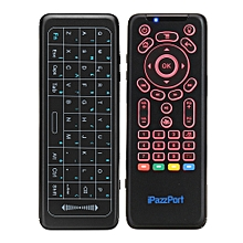 iPazzPort KP-62 Italian 2.4G Wireless 7 Color Backlit Keyboard Full Touchpad IR Learning Airmouse