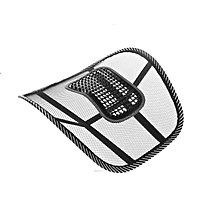 Back Mesh Support for Car Seat or Office Chair - Black