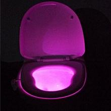 bluerdream-Body Sensing Automatic LED Motion Sensor Night Lamp Toilet Bowl Bathroom Light