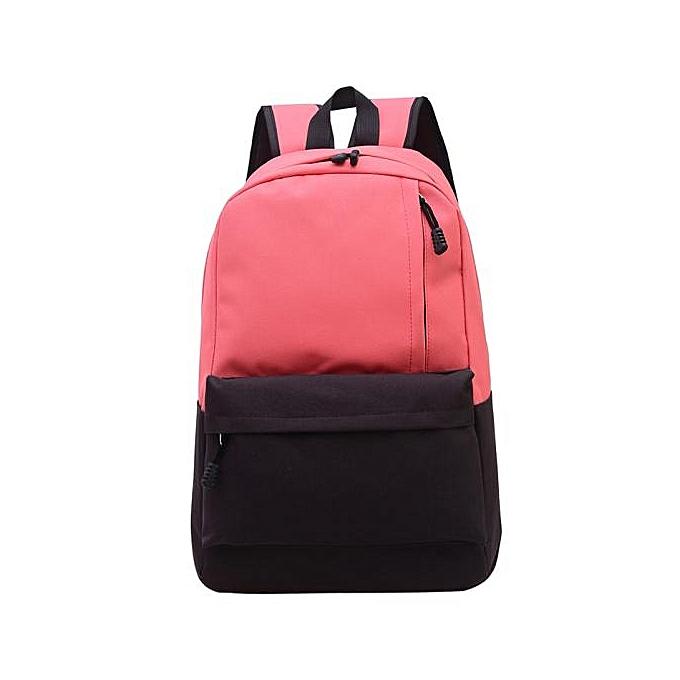 ... guoaivo Unisex Vintage Canvas Backpack Rucksack School Satchel Hiking  Bag Bookbag RD 262e75b099