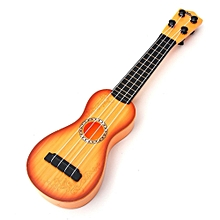 38cm 4 Strings Musical Ukulele Guitar Beginners Kids Children Christmas Gift Toy Yellow