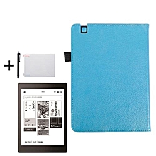 Magnetic Auto Sleep Leather Cover Case For KOBO Arua One EReader SB