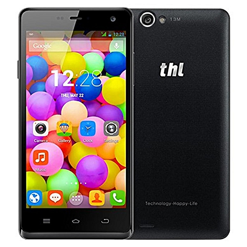 ThL 5000 Ultraphone 5-inch MTK6592T 2.0 GHz Octave Smartphone Black