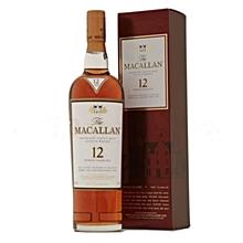 12 Years Sherry Oak Single Malt whisky - 750ml