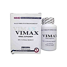 Herbal Supplements - Male Virility Enhancement, 100% Natural Product - 60 Capsules