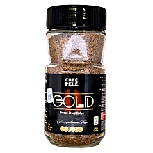 Gold Coffee Jar- 200g