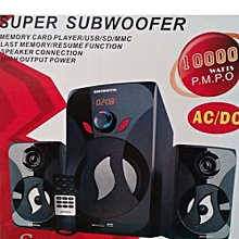 Super Subwoofer System FM,MP3,SD CARD,10000 WATTS PMPO