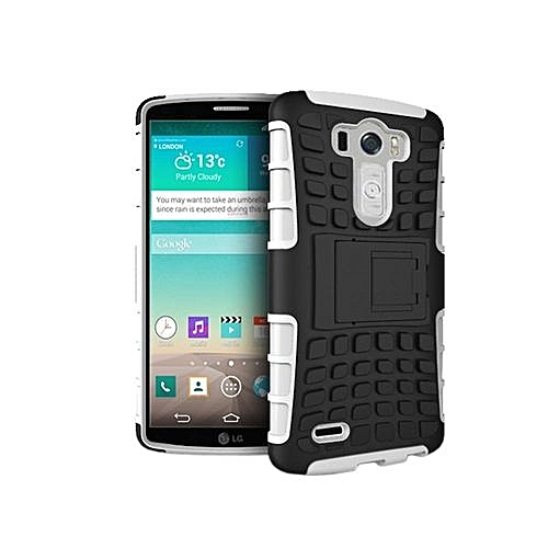 ... Slim Armour - Blue Mooncase Case For LG G3 Detachable 2 In 1 Shockproof Tough Rugged Prevent Slipping Dual- ...