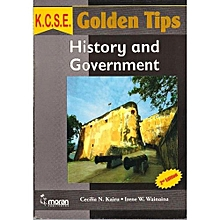 KCSE Golden Tips History and Government