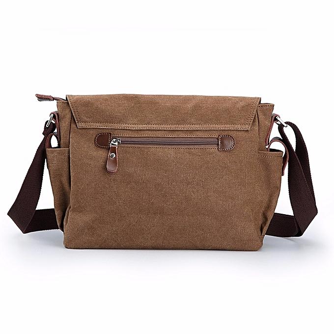 5b0d78a48f11 koaisd Men Vintage Canvas Messenger Shoulder Bag Crossbody Sling School Bags  Satchel CO