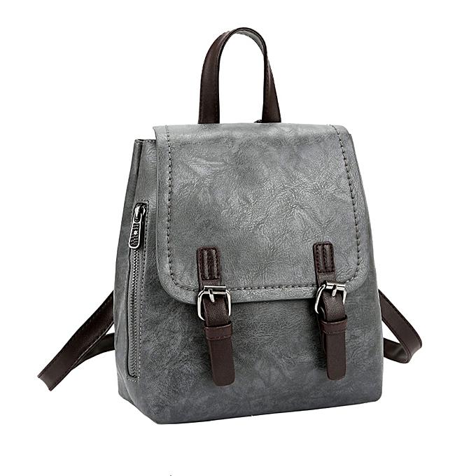 singedanWomen Backpacks Vintage College wind Girls School Bags Girls Women  Backpack GY -Gray df542c0842