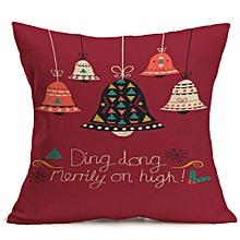 Christmas Decoration Festival Pillow Case Cushion Cover