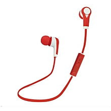 Hiamok_Bluetooth Wireless In-Ear Stereo Headphones Waterproof Sports Headphones RD