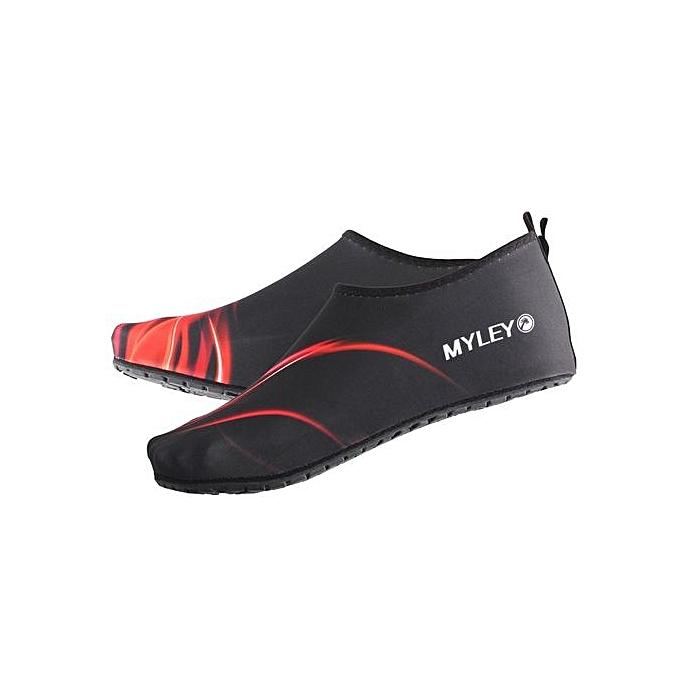 ... Outdoor Water Sport Neoprene Scuba Diving Swim Snorkeling Socks Surf Beach Shoes Men/Women Red ...
