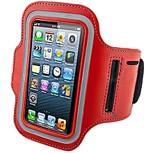 Bluelans Sports Adjustable Armband Gym Equipment Case Cover For IPhone 6/6S Red