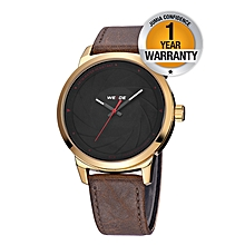 Simple Classic Men Watch - Brown