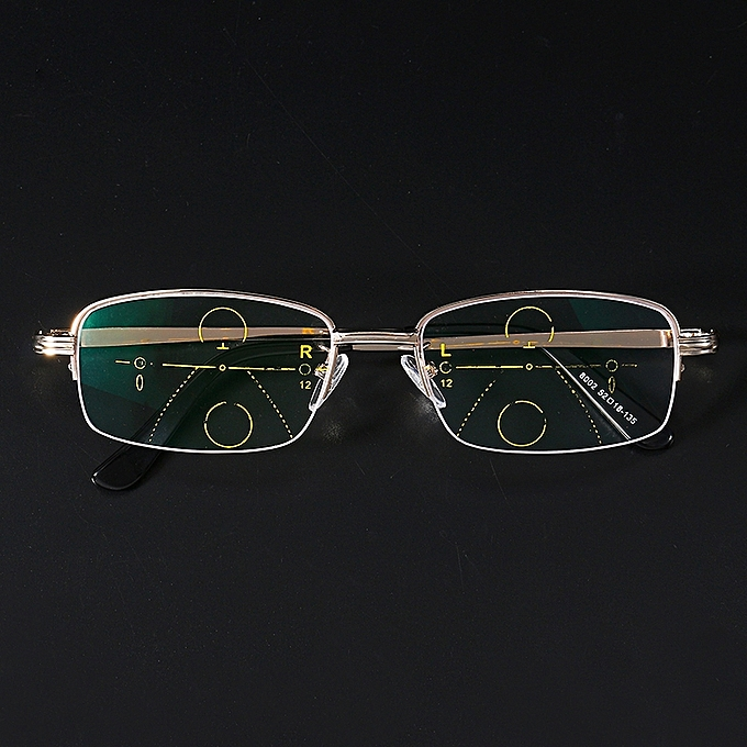 ... KCASA Intelligent Reading Glasses Progressive Multifocal Lens  Presbyopia Alloy Frame Anti Fatigue ... fb3ca2f13e22