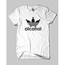 White Alchocol T-shirt
