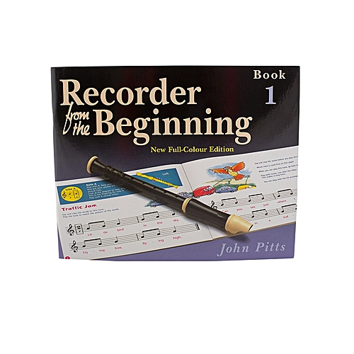 Recorder From The Beginning - Book 1 & 2 - Brown & Purple