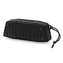 NR - 4019 Outdoor Wireless Bluetooth Stereo Speaker Portable Player-BLACK