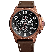 Fashion Casual Watch 3ATM Water-resistant Quartz Watch Luminous Men Wristwatches Male Relogio Musculino