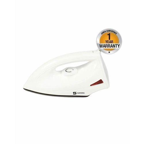 Non-Stick Dry Iron Box SI2084 - 1200W- (White)