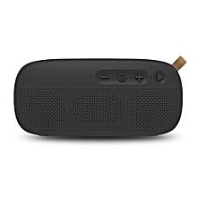 NR - 4012 Waterproof Wireless Bluetooth Speaker Stereo Sound Player-BLACK