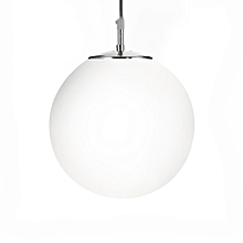 Searchlight Atom Pendant Light with Opal Glass 10 Inch