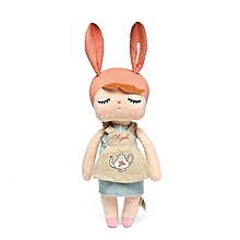 Metoo Angela Plush Lace 33CM Rabbit Dolls Stuffed Toys For Children Girl kids Gift-