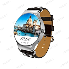 KW98 3G Android Smart Watch 8GB Bluetooth SIM GSM Phone GPS Heart Rate For iOS