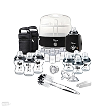 Closer To Nature Complete Feeding Set - Black