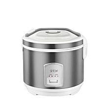 SCO-5046S  Rice Cooker - 1.8L - Silver