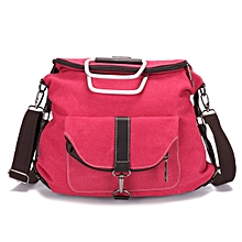 Women Canvas Backpack Casual Handbags Shoulder Bags Travel Rucksack