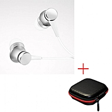 Xiaomi Mi Earphone Piston Fresh Version In-Ear 3.5mm Colorful Earphones with Mic For Mobile Phone MP4 MP3 PC With Earphone Box